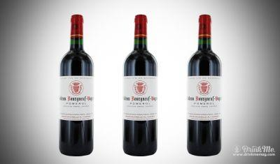 Chateau Bourgneuf Veyron 2013 Pomerol: 93 Pts