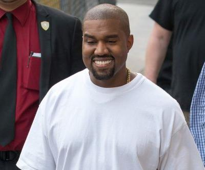 Kanye West wears jumbo shoes after he's mocked for tiny sandals