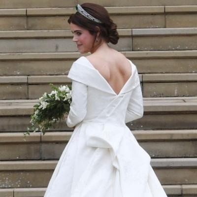These Photos Of Princess Eugenie's Wedding Dress Prove It Was Completely Stunning