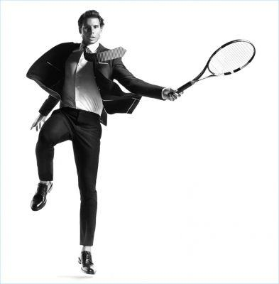 Rafael Nadal Stars in Tommy Hilfiger Tailored Spring '17 Campaign