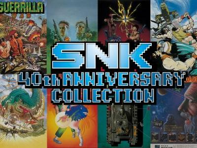 SNK 40th Anniversary Collection Coming This Year To Switch