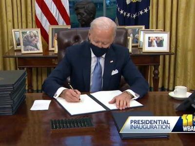 Expert: Biden spends first day of presidency making several policy changes