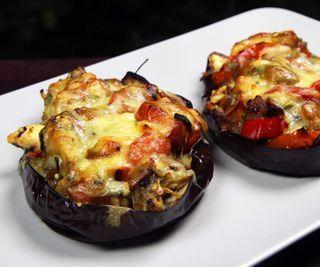 How to Cook Stuffed Roasted Eggplant