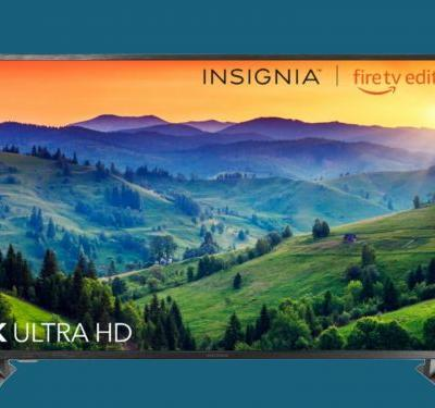 Best Buy's new Insignia 4K TVs have Amazon Fire TV and Alexa built in - and they start at $329