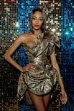 Jourdan Dunn Gave the French Manicure Trend a Luxe Holographic Twist