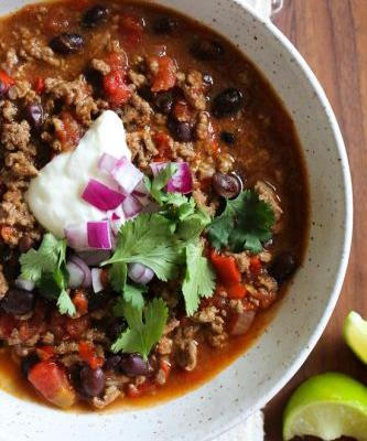 Quick Beef Chili Recipe