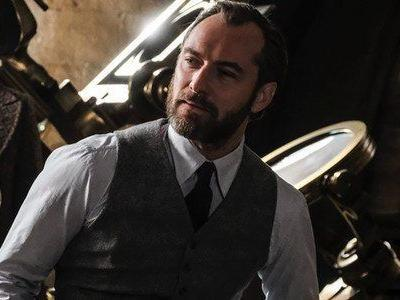 New 'Fantastic Beasts' Sequel Images Feature Hot Dumbledore, Johnny Depp With Bad Hair