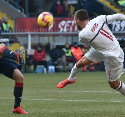 Genoa 0 AC Milan 2: Borini and Suso step up with Higuain left out