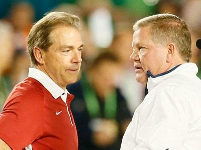 Alabama, Notre Dame negotiating future home-and-home series, per report