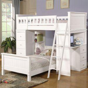 30 Beautiful Bunk Bed with Desk Pics