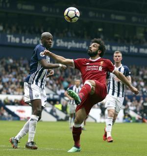Salah shares scoring record as Liverpool held by West Brom