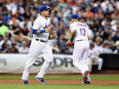The Mets are so decimated by injuries they had to move their catcher back and forth between 2 entirely different positions