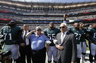 President's criticisms spark more protests at NFL games