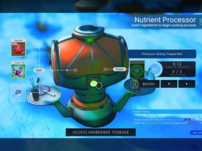 No Man's Sky: Beyond Creature Taming Guide - how to build the Nutrient Processor and get bait