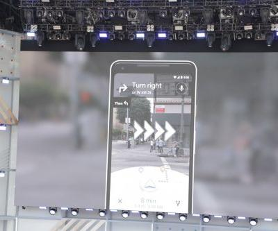 Maps walking navigation is Google's most compelling use for AR yet