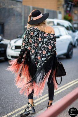 Summerunawaycollection: Elena Perminova London Street Style
