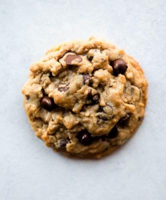 Big Fat Peanut Butter Oatmeal Chocolate Chip Cookies