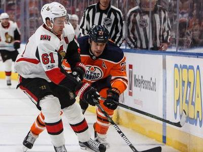 Senators sweep Western Canada with blow out win over Oilers