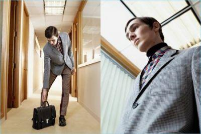 Prada Presents Quirky Office Style for Spring Campaign
