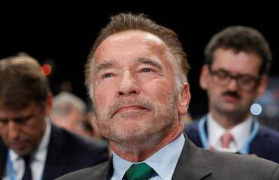 Arnold Schwarzenegger struck by kicking attacker in South Africa