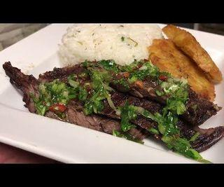 How to Make Grilled Steak With Chimichurri