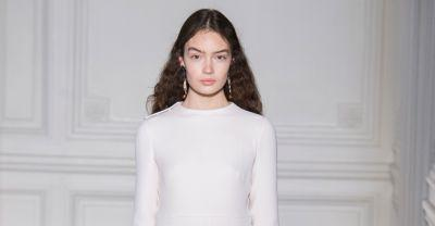 Valentino's Spring 2017 Couture Collection Is a Clean Slate