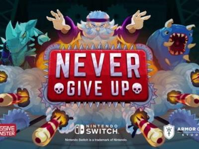 Never Give Up Announced