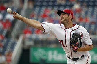 Scherzer takes rare loss, Richards flirts with no-no