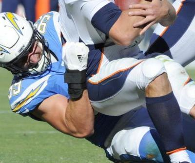 Chargers DE Bosa returns to practice