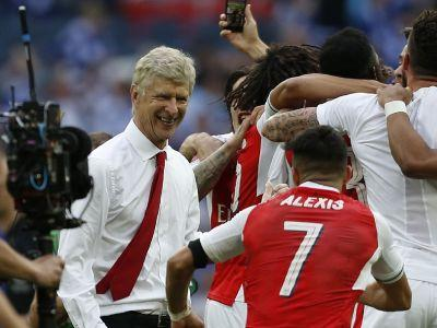 Diminished but dignified Wenger's future in the air after FA Cup final feat