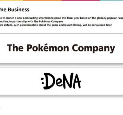DeNA to Release 'New And Exciting Smartphone Game' Based on Pokemon by March 2020