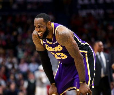Opinion: Lakers' LeBron James keeping right perspective during coronavirus pandemic