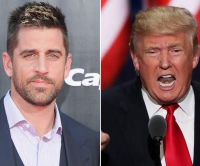 Aaron Rodgers: Athletes need to ignore Donald Trump's insults