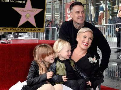 Raise a Glass! Pink Gets a Star on the Hollywood Walk of Fame and Celebrates With Carey Hart and Their Kids