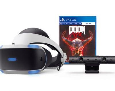 PS VR DOOM VFR bundle brings headset, camera and game next month