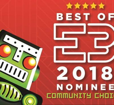 Vote now for Destructoid's E3 2018 Community Choice Award!