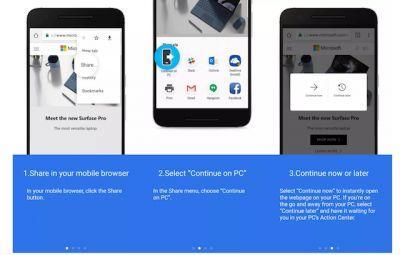 Link Android Phone To PC With Latest Windows 10 Preview