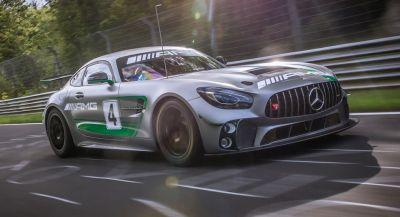 Mercedes-AMG GT4 Hits The 'Ring Before Racing Debut