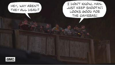 The Stupids Send THE WALKING DEAD Astray Again