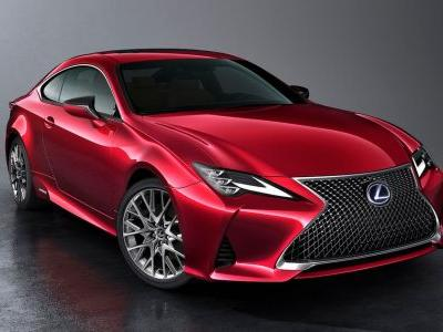 Say Hello To The Lightly Tweaked Lexus RC