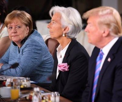 Donald Trump Showed Up Late To The G7's Women's Empowerment Event & Really, Dude?