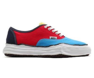 Maison MIHARAYASUHIRO OG Sole Arrives in Multicolor Red/Blue/Yellow