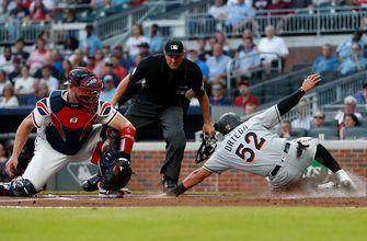 Marlins lose series finale to Braves, Jose Urena ejected early