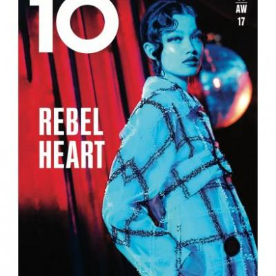 Cover Number 3 Of Issue 59 Of 10 Magazine, Rebel Heart, Out September 14th