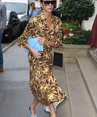 Here's The Victoria Beckham Way to Wear Fall's 1 Trend