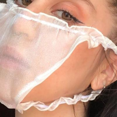 Artist Hannah Bates is selling COVID-19 face masks made of her used panties