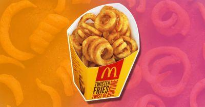 More McDonald's stores have started selling curly fries