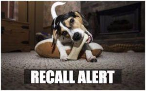 RECALL ALERT: Yesterday's Dog Treat Recall Expanded Over Salmonella Concerns