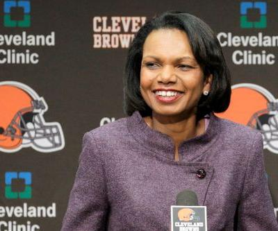 Condoleezza Rice responds to being linked to Browns coaching job