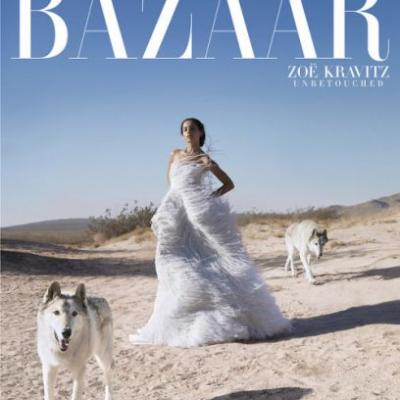 Zoë Kravitz Poses Unretouched and Opens Up About Defying
